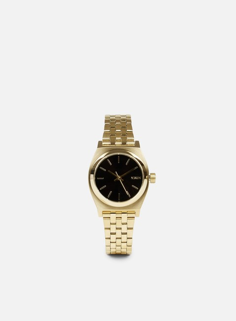 accessori nixon wmns small time teller gold black