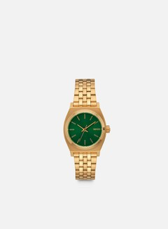 Nixon - WMNS Small Time Teller, Gold/Green Sunray 1