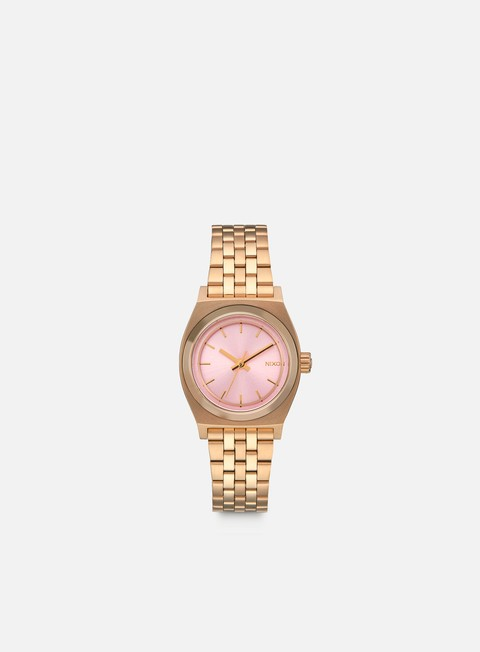 accessori nixon wmns small time teller light gold pink