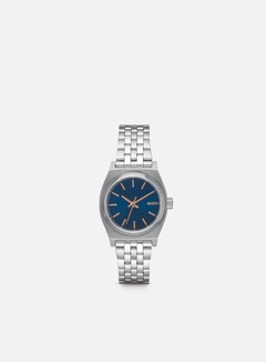 Nixon - WMNS Small Time Teller, Navy/Rose Gold