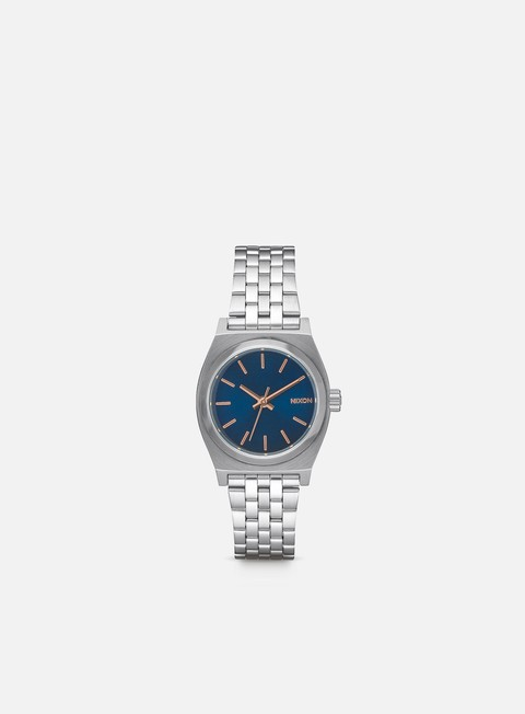 accessori nixon wmns small time teller navy rose gold