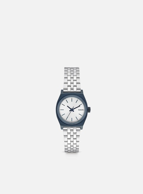 accessori nixon wmns small time teller navy silver