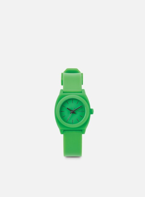 accessori nixon wmns small time teller p green