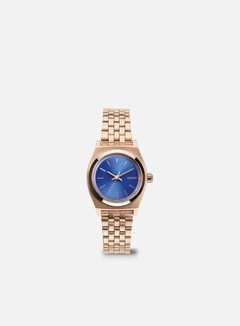 Nixon - WMNS Small Time Teller, Rose Gold/Cobalt 1
