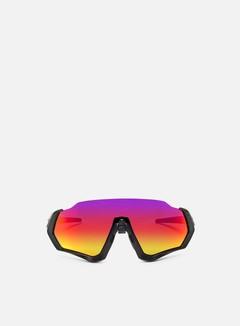 Oakley - Flight Jacket, Matte Black/Prizm Road