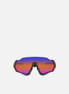 Oakley - Flight Jacket, Matte Steel/Prizm Road Jade