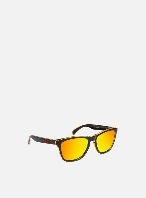 accessori oakley frogskins grips matte black fire iridium