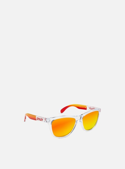 accessori oakley frogskins grips polished clear prizm ruby