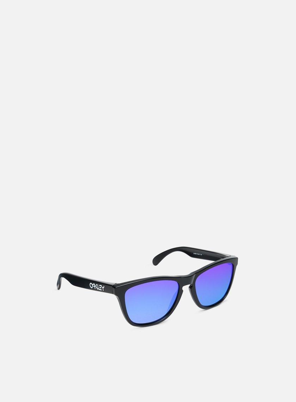 Oakley - Frogskins, Matte Black Violet Iridium