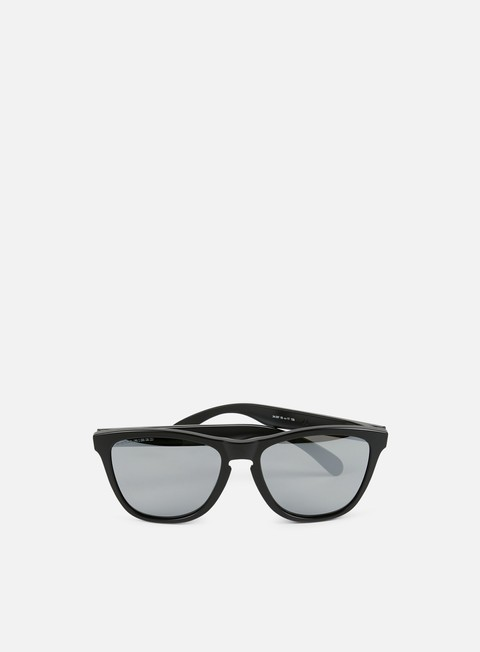 accessori oakley frogskins polarized matte black black iridium polarized
