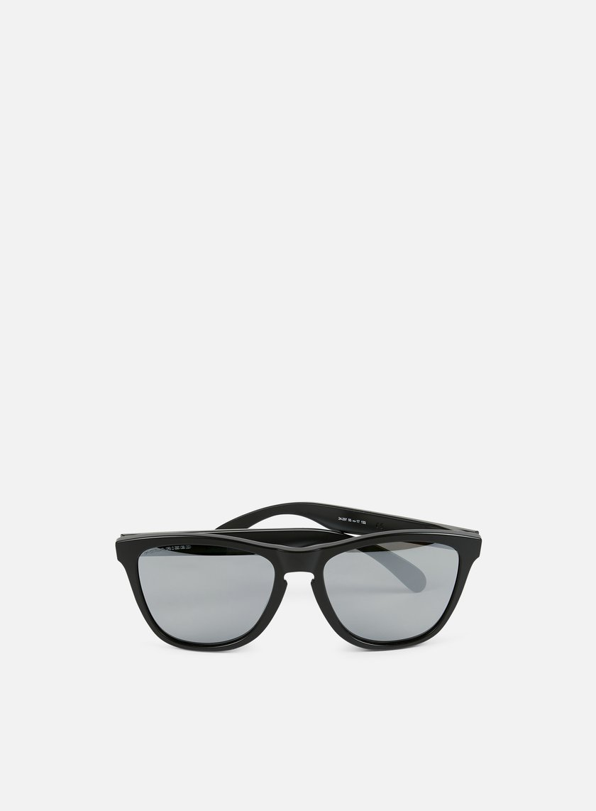 Oakley - Frogskins Polarized, Matte Black/Black Iridium Polarized