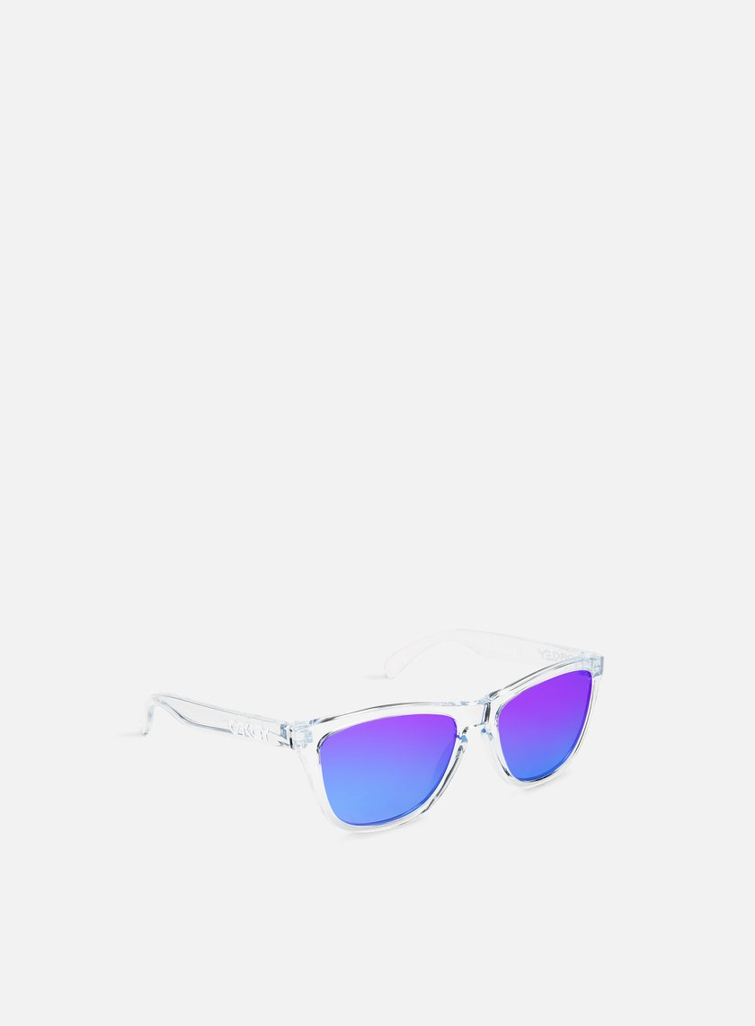 Oakley - Frogskins Polished, Clear Violet Iridium