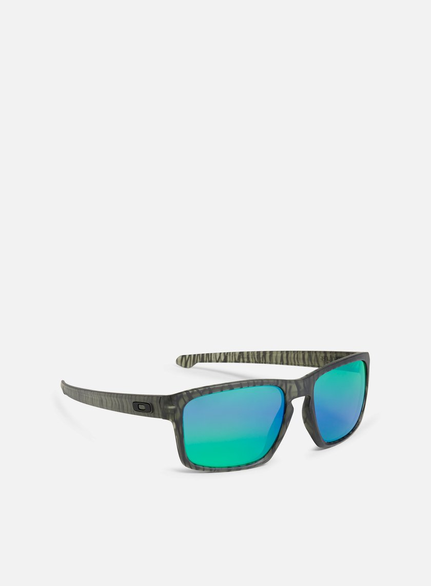 Oakley - Sliver Urban Jungle, Matte Olive Ink/Jade Iridium