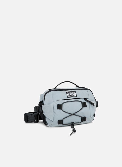 accessori oakley tnp reflective belt bag silver reflective