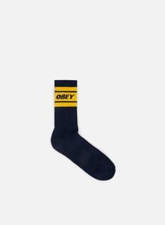 Obey - Cooper Deuce Socks, Navy