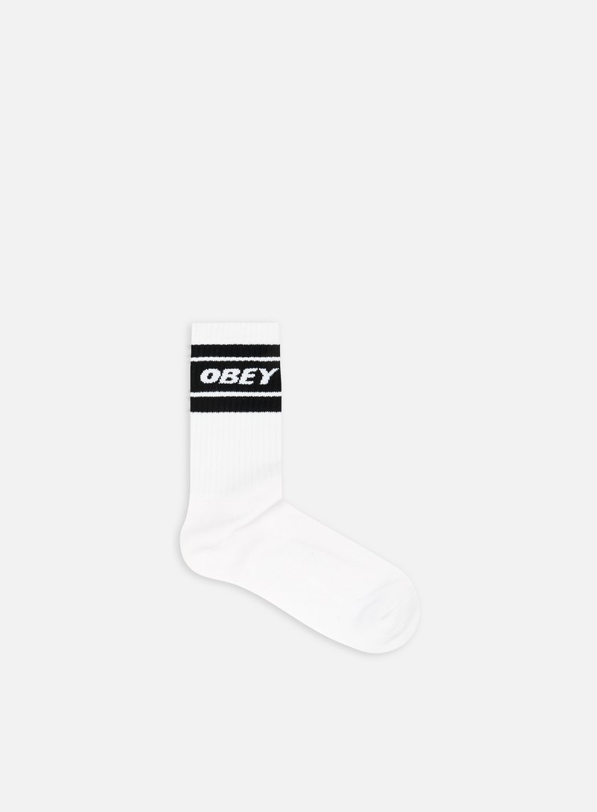 Obey - Cooper II Socks, White/Black