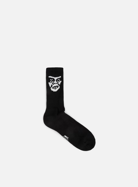 accessori obey creeper socks black