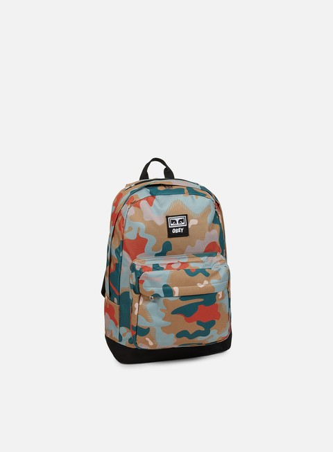 accessori obey drop out juvee back pack drip camo