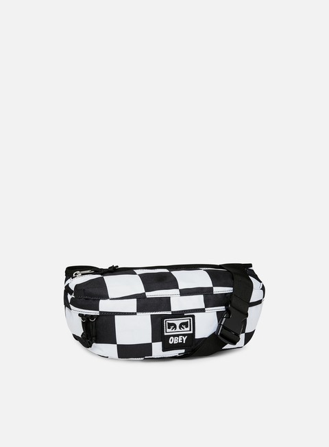 accessori obey drop out sling bag checker