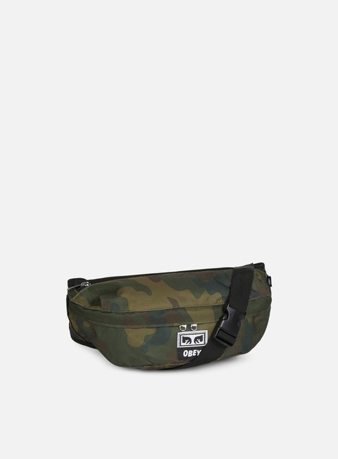 accessori obey drop out sling pack field camo
