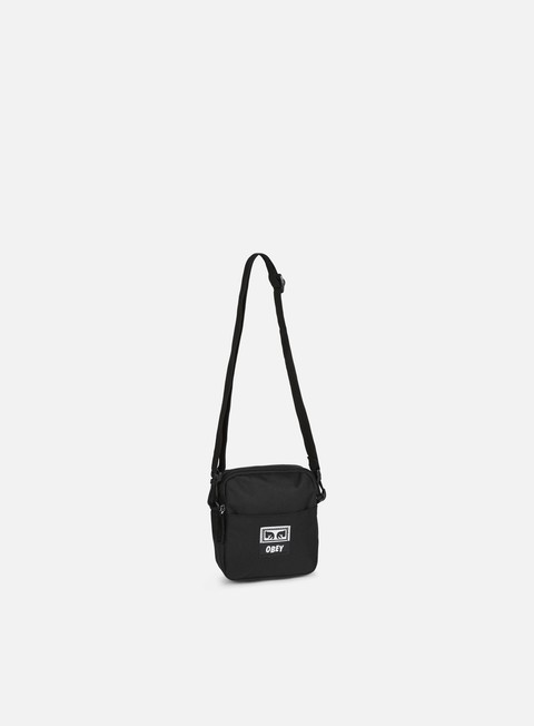 accessori obey drop out traveler bag black