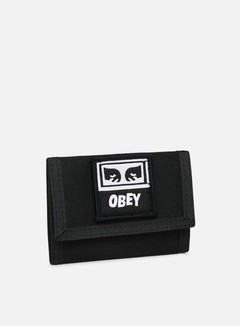 Obey Drop Out Tri Fold  Wallet