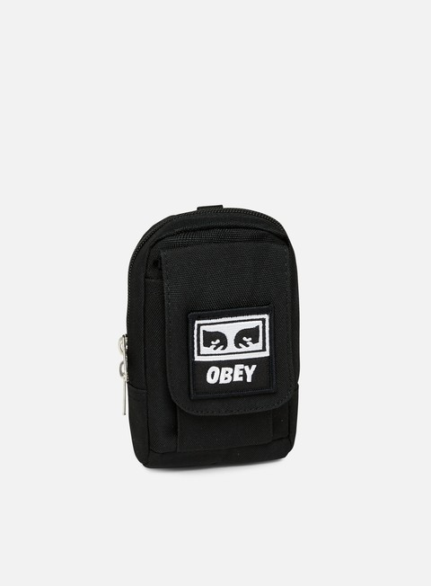 accessori obey drop out utility bag black