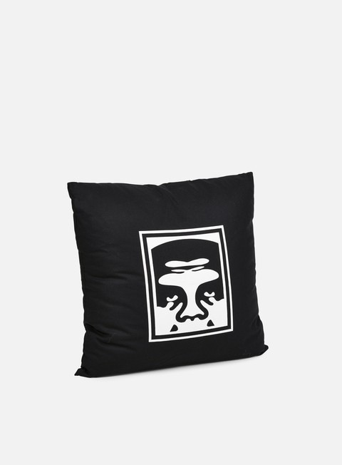 accessori obey eighty nine pillow black