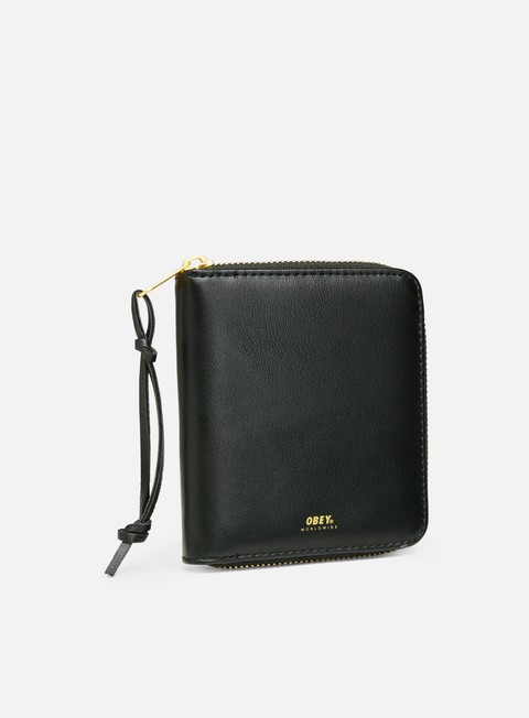 Portafogli Obey Gentry II Zip Around Wallet