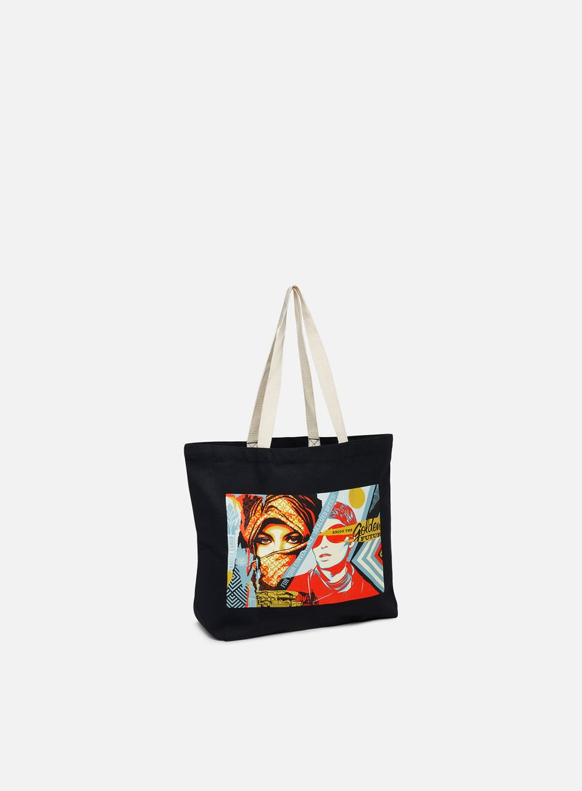Obey Golden Future Tote Bag