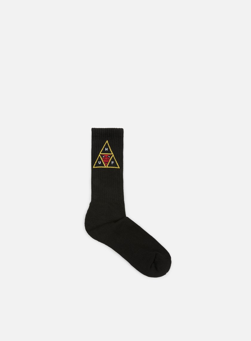 Obey - Huf Socks, Black