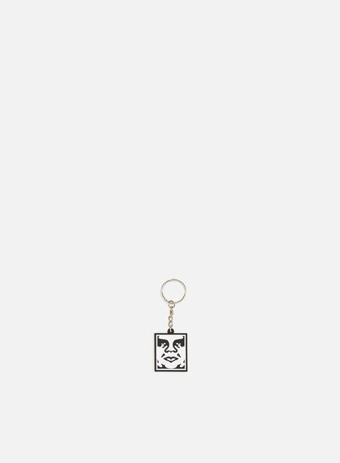 Keyrings Obey Icon Soft Pvc Key Chain