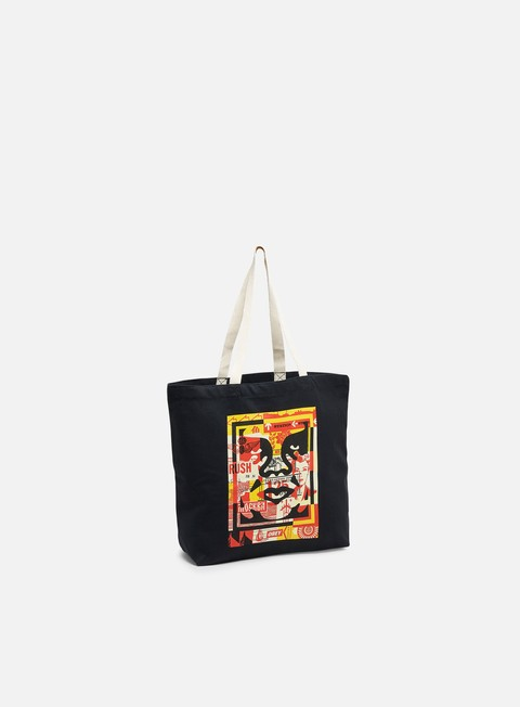 Borse Obey Obey 3 Face Collage Tote Bag