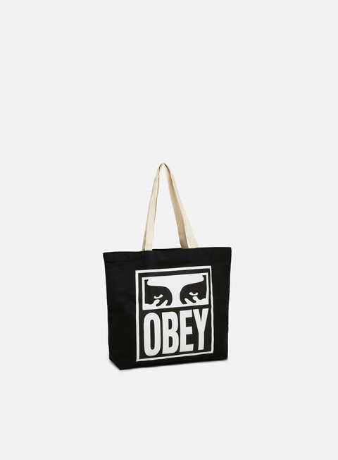 Outlet e Saldi Borse Obey Obey Eyes Icon 2 Tote Bag