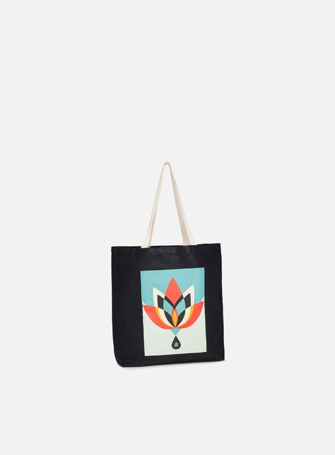 Outlet e Saldi Borse Obey Obey Geometric Flower Tote Bag