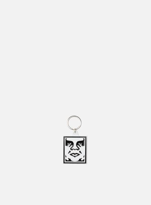 Obey Obey Icon Metal Keychain