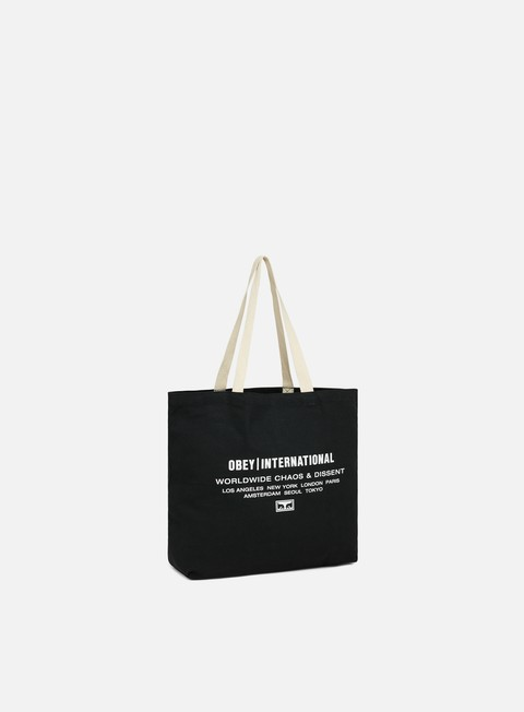 Borse Obey Obey Intl. Chaos & Dissent Tote Bag