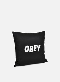 Obey - Obey Jumbled Pillow, Black 1