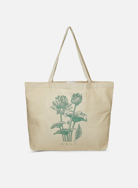 Borse Obey Obey Lotus Spider Tote Bag