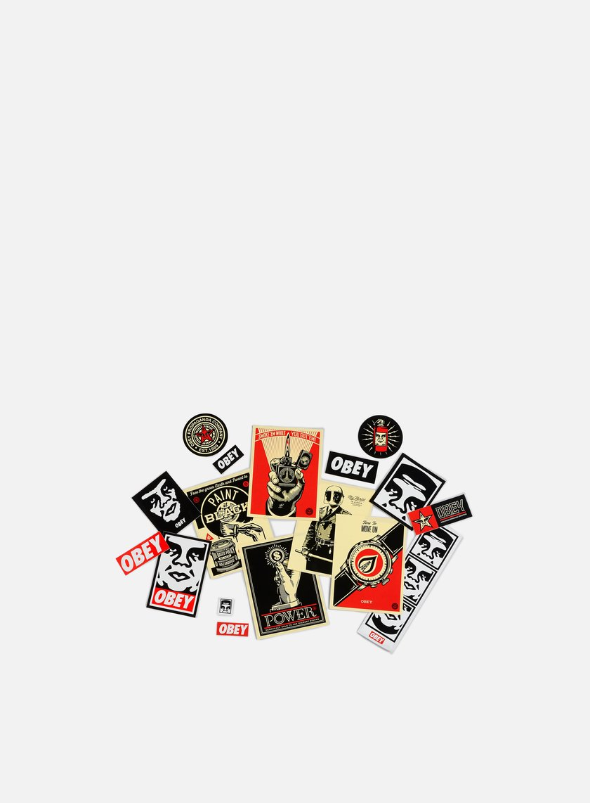 Obey - Sticker Pack 3, Assorted