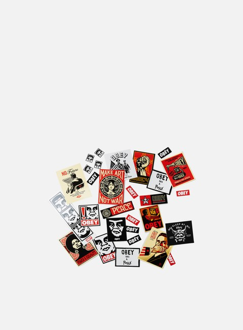 Various Accessories Obey Sticker Pack 4