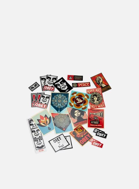 Accessori Vari Obey Sticker Pack 4
