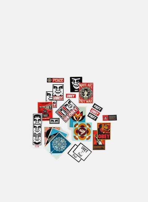 Accessori Vari Obey Sticker Pack 5