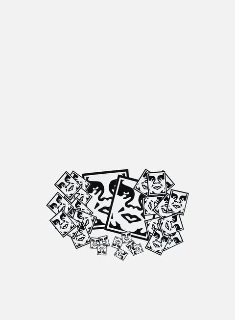 Outlet e Saldi Accessori Vari Obey Sticker Pack Icon Face