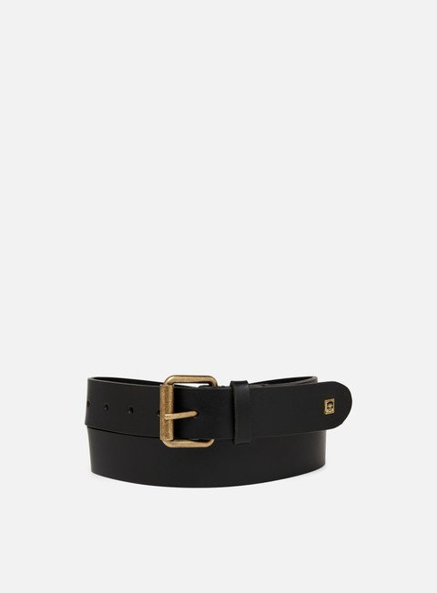 Outlet e Saldi Cinture Obey Vandal Leather Belt
