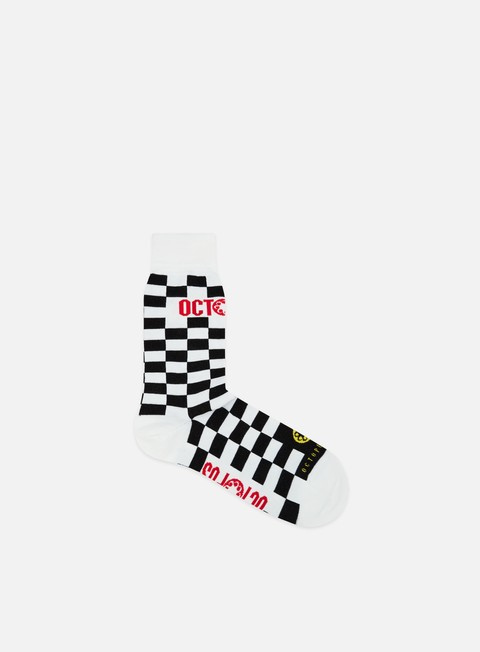 Octopus Octopus Checkered Logo Socks