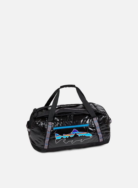 accessori patagonia black hole duffle 60l black w fitz trout