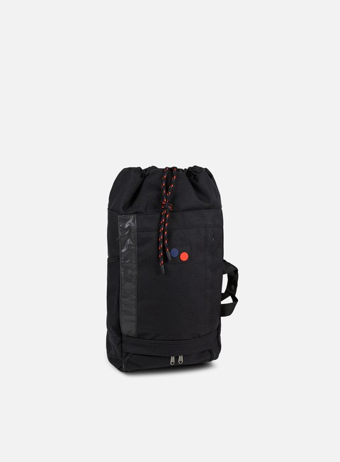 accessori pinqponq blok backpack minimal black