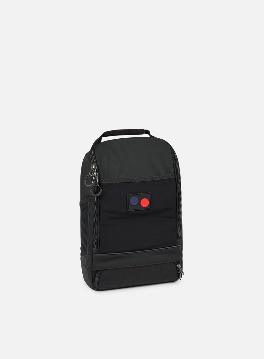 Pinqponq - Cubik Small Backpack, Minimal Black