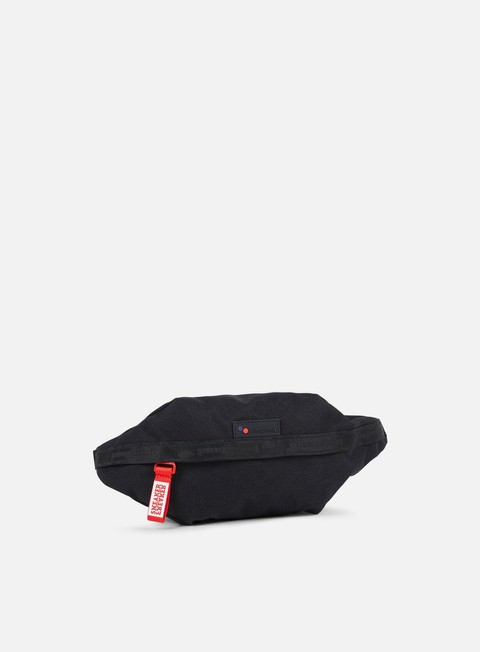 accessori pinqponq sneaker freaker brik hip bag black